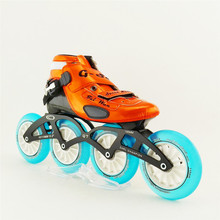 Professional carbon fiber Speed Skating Roller Inline Skates Roller Shoes Patins Skates 4 Inline Wheels