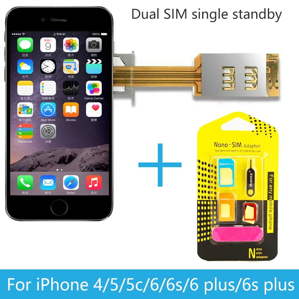 Magic SIM Dual 2 Sim Card Adapter Slot Single Standby For