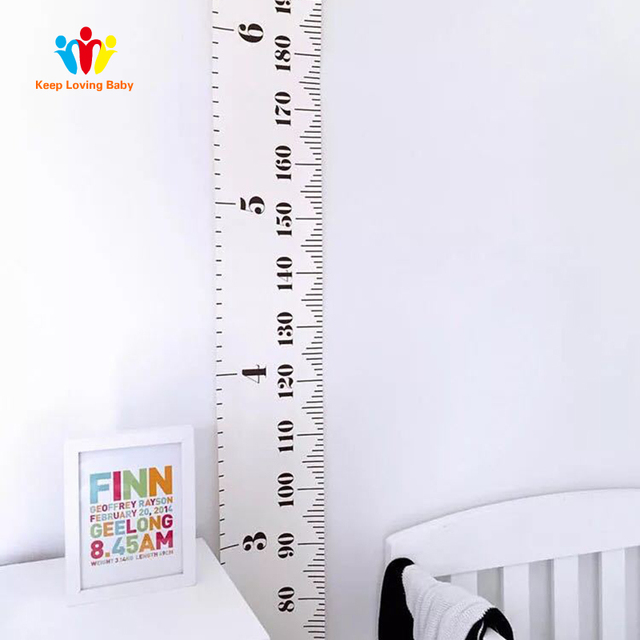 Baby Bed Sets Kid Room Decor Accessories Height ruler for children Boys Girls Photography Props Gift Baby Bedding Accessories
