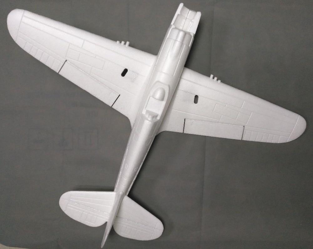 700mm P40 Mini EPO RC Warbird Aeromodelismo DIY Kit