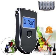 AT-818 Профессиональный полицейский цифровой дыхательный спирт Тестер Алкотестер Анализатор детектор практичный AT818