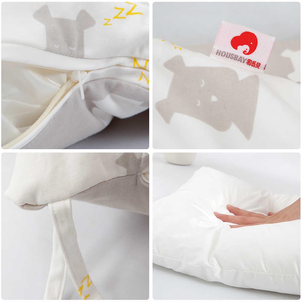 Детские бампер для новорожденных Спящая постельные принадлежности комплекты Носки с рисунком медведя из мультика мягкий безопасный защита для малыша младенческой номер Декор Детская кровать бампер 2019