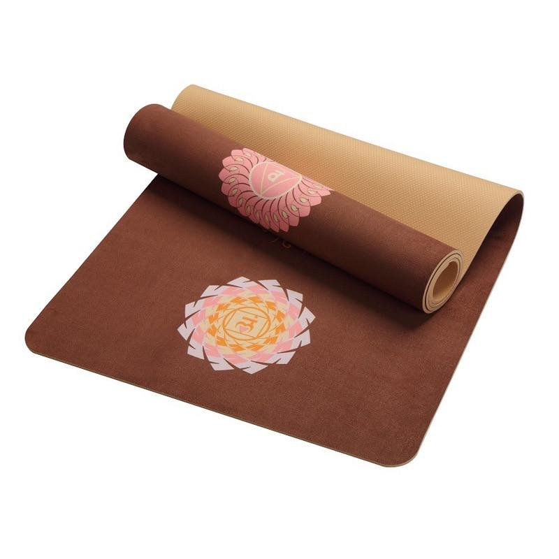 Natural TPE Slip Resistant Graphic Printed Yoga Mat ...