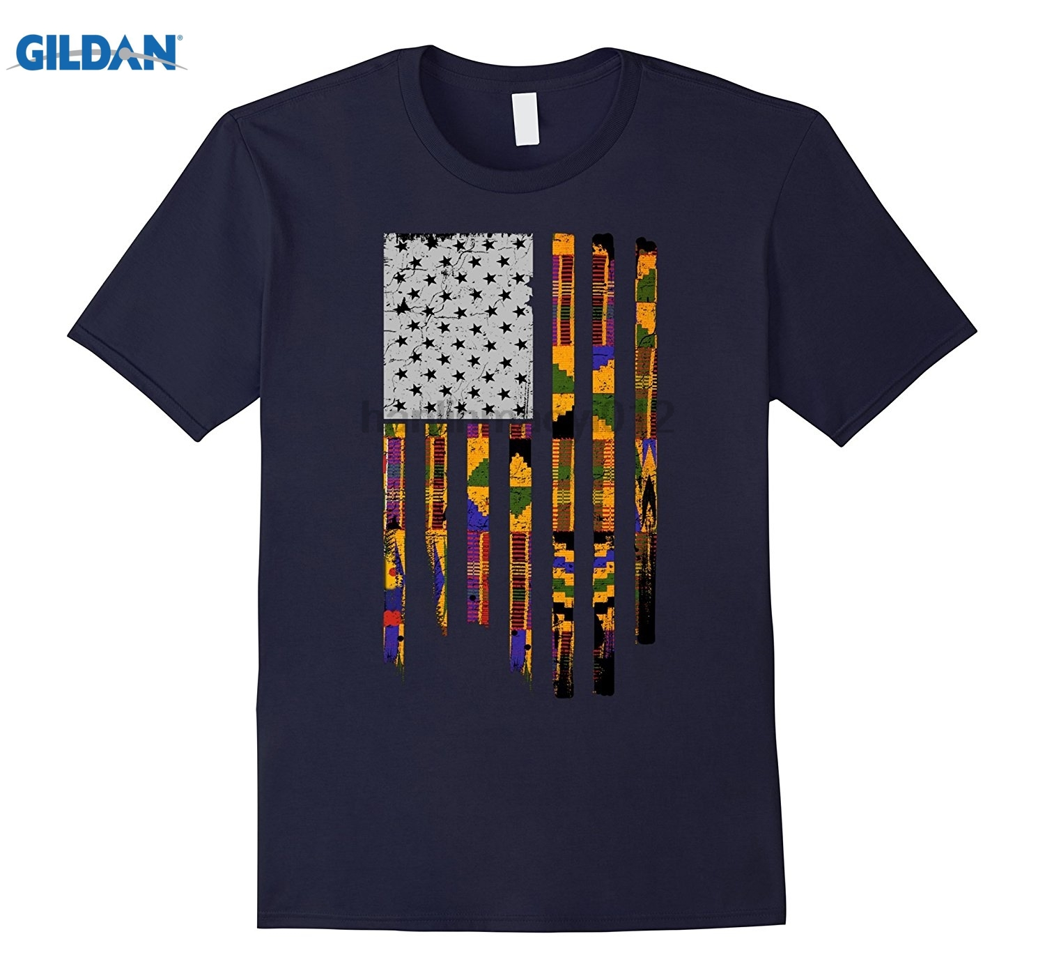 GILDAN Juneteenth Pan African Flag Freedom Day Black History Mothers Day Ms. T-shirt
