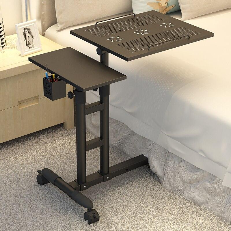 À Vendre Bureau D'ordinateur De Levage Maison Table d'ordinateur portable Moderne Simple Ordinateur Portable Table De Chevet Réglable Table d'ordinateur portable s avec Ventilateurs