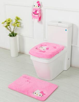 cushioned toilet seat covers. hellokitty toilet seat cover trap bathroom square sanitary sitting carpet cushion ring potty cushioned covers