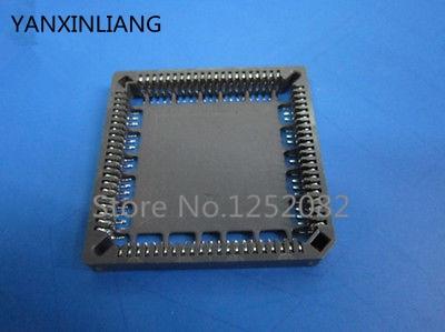 5Pcs PLCC84 84 Pin SMT SMD IC Socket Adapter PLCC Converter  xc95108 20pc84c xc95108 xc95108tmpc84 95108 plcc84