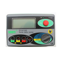 Megohmmeter 0 2000 Ohm Real Digital Earth Tester DY4100 Ground Resistance Tester Meter