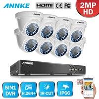 SANNCE 4 800TVL Indoor Outdoor IR Home Surveillance Camera System 4 CH 960H HDMI DVR