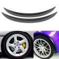 Wheel Eyebrow Decorative Strips Universal Car Tires Eyebrow Car Styling Car Stickers Car  Wheel Accessories Black 33x2.5cm