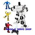 17 dof robô humanóide/biped robot dance/educação robô platformt/Controle Remoto/robot DIY