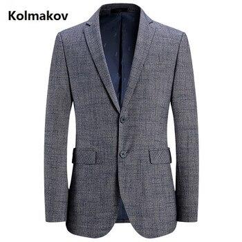 2019 spring Autumn Jacket new style suits men's casual blazers men coats jacket British style business blazer man size M-4XL
