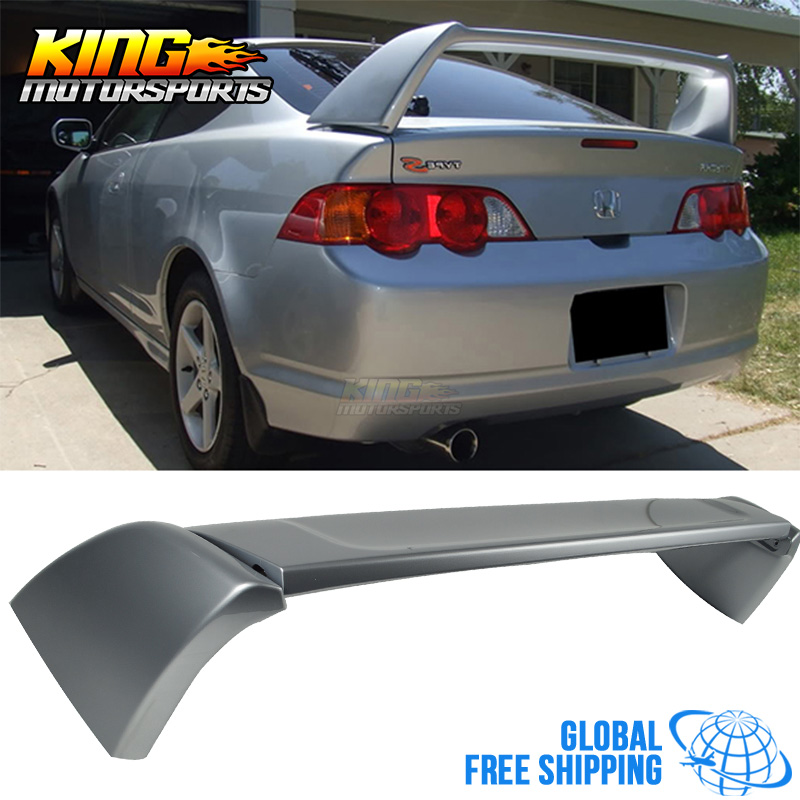For 02 06 ACURA RSX DC5 Type R Trunk Spoiler Painted Satin