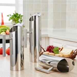 Image 2 - Arrivels החדש גדול קיבולת 2L מטבח מים צנצנות שלי מים בקבוק משרד משפחה מיץ פירות תה חלב קפה סיר קפה בר כלים
