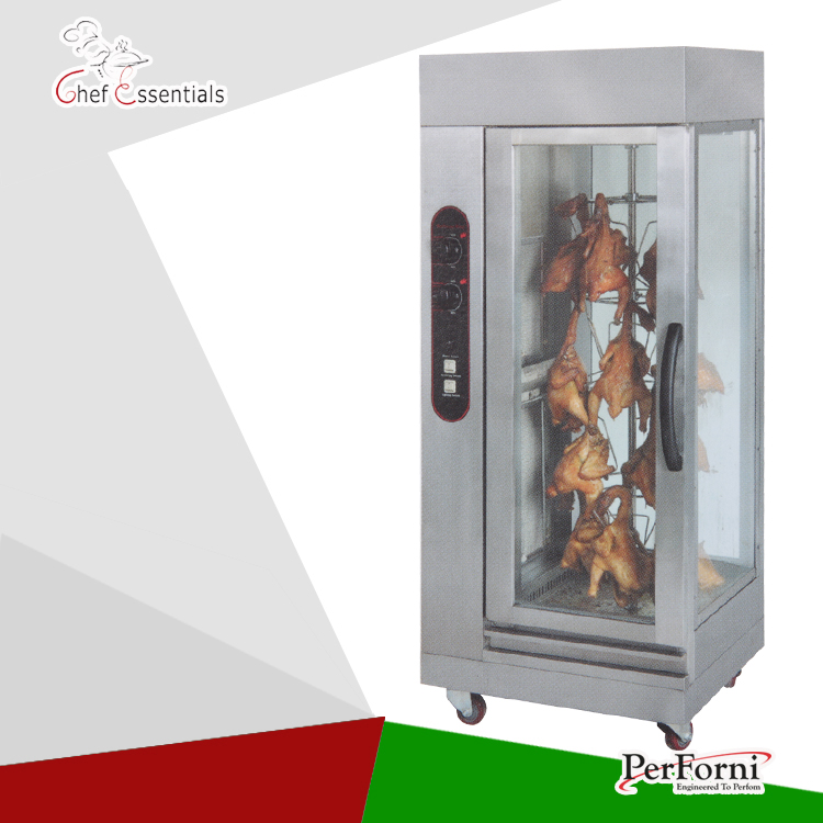 PKJG-GB306 Gas vertical rotary  Chicken Rotisseries  stainless steel chicken rotisseries oven 220v 50hz 60l min 316 stainless steel high viscosity oil rotary vertical screw pump