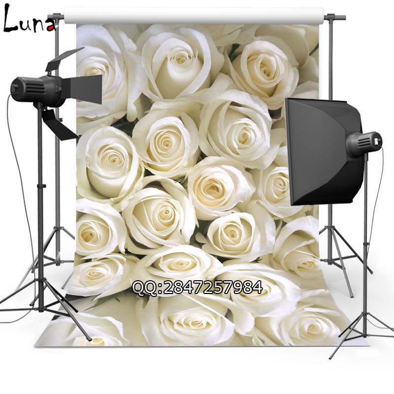 MEHOFOTO Floral Vinyl Photography Background Backdrop For White Rose New Fabric Flannel Backdrop For Lover photo studio 2387 mehofoto night sky vinyl photography background for baby dark clouds new fabric flannel backdrop for wedding photo studio f2724