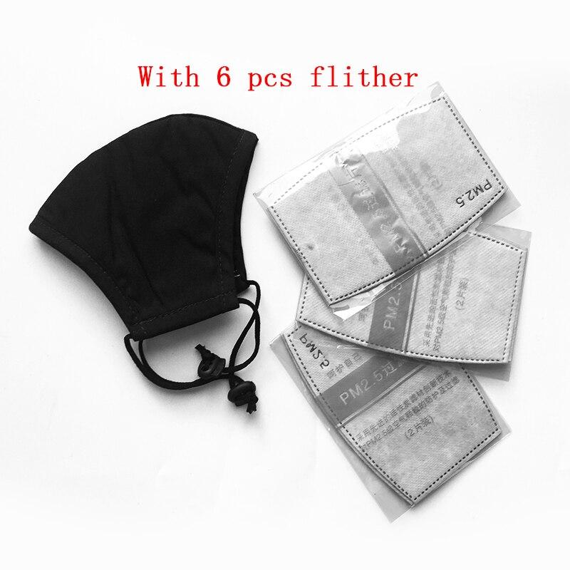 Kpop Anti Staub Pm2.5 Grippe Mund Gesicht Maske Mit Carbon Filter Tuch Atemschutz Medizinische Schwarz Maske Auf Die Lippen Für Winter Laufschuhe Persönliche Gesundheitspflege Gesundheitsversorgung