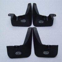 Черные Стильные Брызговики брызговики крылья 4 шт для KIA RIO 2005-2012