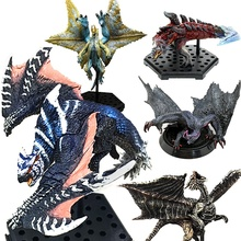 ФОТО japanese anime monster hunter online pvc models ancient dragon action figure collective toys