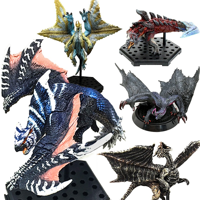 Japanese Anime Monster Hunter World Generations Ultimate Online PVC Models Ancient Dragon Action Figure Collective toys