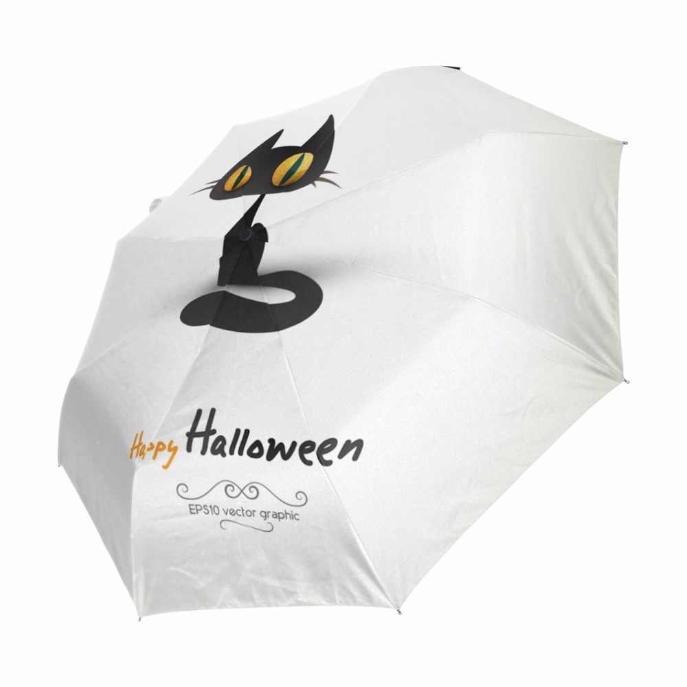 3 складной зонт для путешествий автоматический анти УФ Sombrilla Плайя дождь Солнце Sombrinha 100% полиэстер белый Paraguas Automatico Plegable