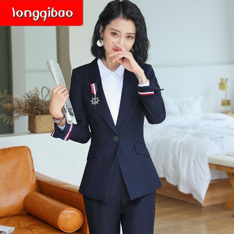 Travail Nouveau 2 2019 Tweed Costume Vêtements Tempérament Unie Ensembles 1 Couleur Plus La Coréenne Femmes Pièces Version De Tenue Deux Ensemble Taille 1TSd1qnr