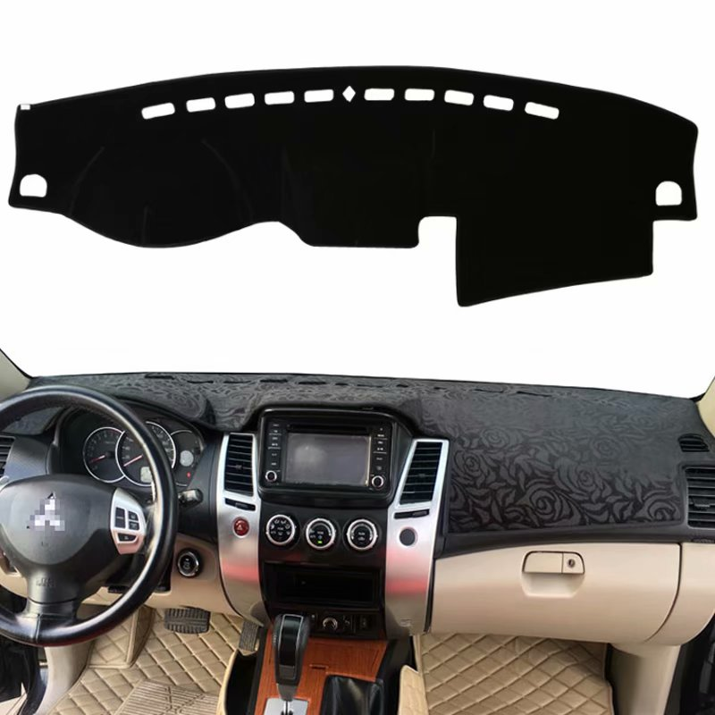 For Mitsubishi Pajero Sport Montero 2008 2009 2010 2011 2014 2016 Car Styling Covers Dashmat Dash Mat Sun Shade Dashboard Cover image