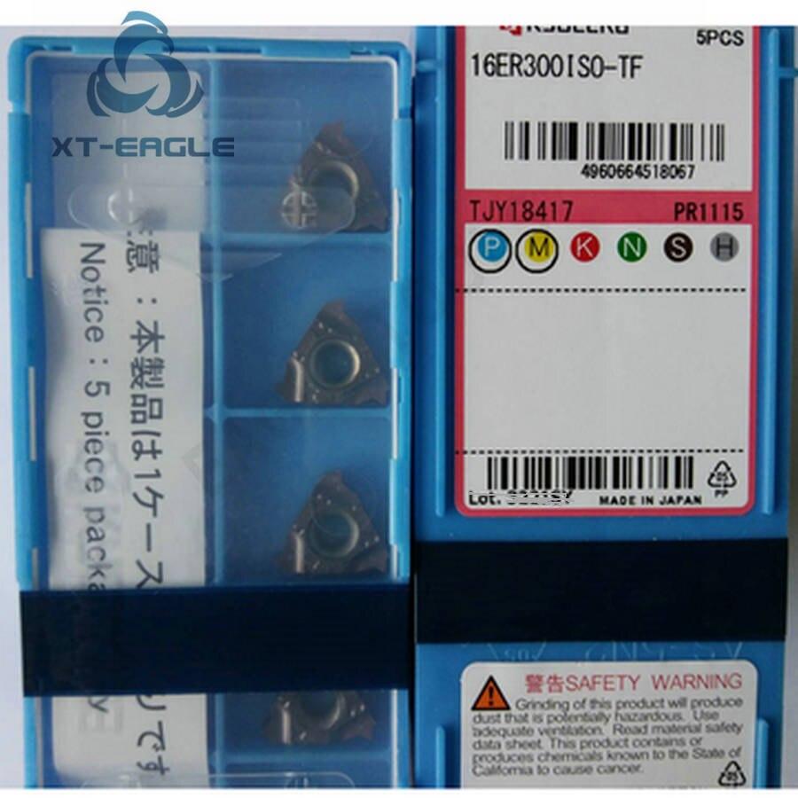 10PCS//Box Kyocera CNC Blade 16IR16UN-TF PR1115