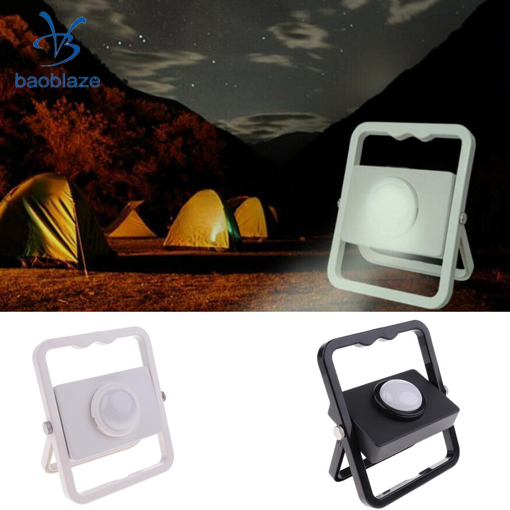 Baoblaze DC5V USB Rechargeable Hand-held Outdoor LED Emergency Light Camping Floodlight