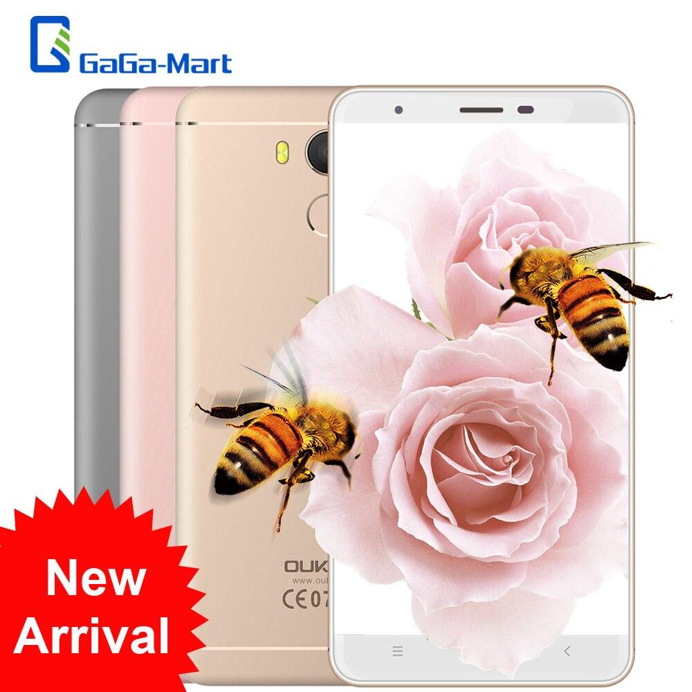 """Цена за OUKITEL U15 PRO 4 Г LTE Смартфон Android 6.0 MTK6753 Octa ядерный Телефон 3 ГБ + 32 ГБ 16.0MP отпечатков пальцев 5.5 """"дюймовый HD Мобильный Телефон"""