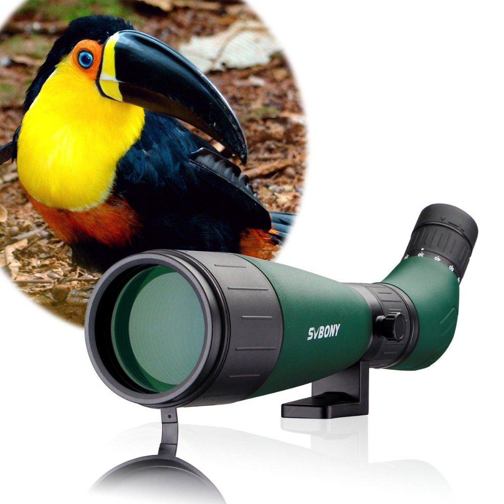 SVBONY SV18 Spotting Scope 20-60x60 Telescope Birdwatching Archery Fully Coated Compact with Phone Adapter F9327 цена