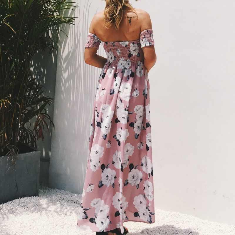 Vestidos Playeros Verano Mujer Vestidos Largos De Nuevas Llegadas Vestido Largo De Playa Vestidos Tallas Grandes Vestido Floral Rosa Ropa Talla Grande