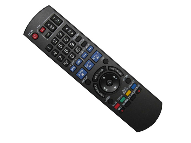 aliexpress com buy used remote control for panasonic dmr eh575 rh aliexpress com panasonic dmr xw300 manual pdf Panasonic DMR Recorders