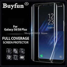 For Samsung Galaxy S8 S 8 Screen Protector 3D Curved Full Cover Protective Film For Samsung S8 plus Film (Not Tempered Glass)(China)