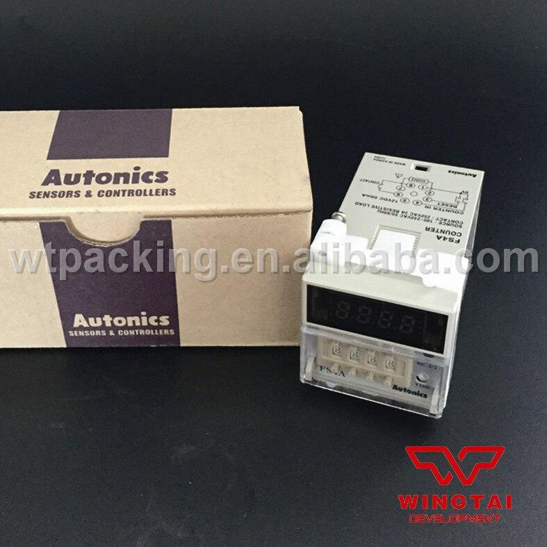FSE Series FS4A 4 Digits 8 PIN plug connection type Autonics Digital Counter  цены