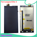 Original For Leagoo Elite 3 LCD Display Touch Screen Assembly Digitizer 5.5 Inch Black Moble Phone LCDs