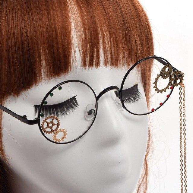 Стимпанк очки с шестеренками в двух вариантах 2