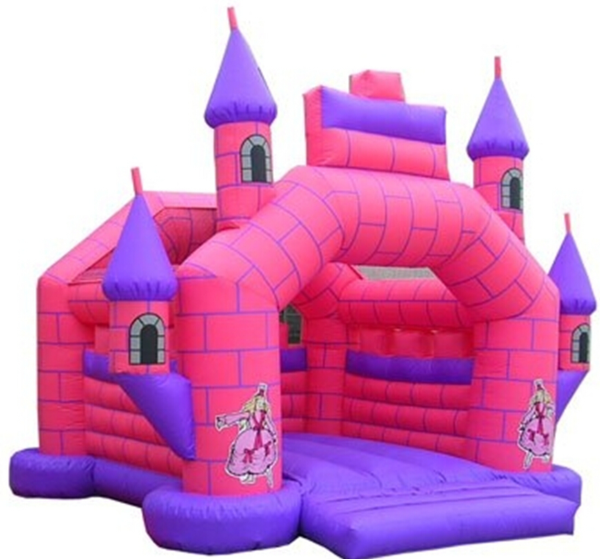 kids 39 toy kingdom nylon anime cartoon inflatable castle jump bed trampoline kids indoor. Black Bedroom Furniture Sets. Home Design Ideas