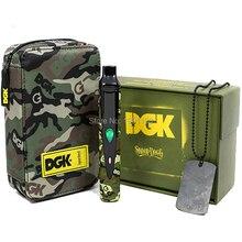DGK Snoop Dogg Vaporizador de Hierbas cigarrillo electrónico kit 2200 mah Temp Control de DGK Snoop Dogg Hierba Seca Vape Cera Camuflaje E Cigs