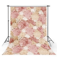 Photography Backdrops 5x7ft Vinyl Photo Backgrounds Pink Floral Baby newborn photography backdrop props Fotografico