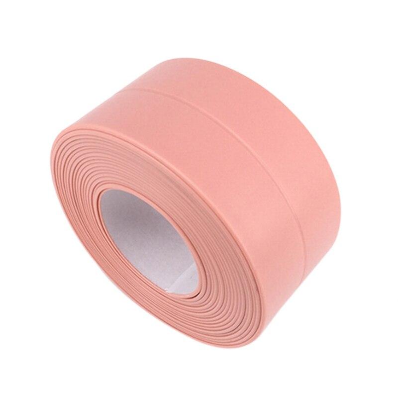 Mildew Proof Moisture Barrier Tape Kitchen Gap Sticker Seal Waterproof Strip For Bathroom Corner Household Merchandises