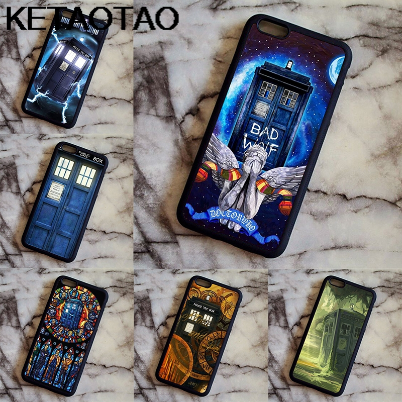 Phone Bumper Dutiful Ketaotao Accessories Pockets Tardis Doctor Who To Box Phone Cases For Samsung S3 4 5 6 7 8 9 Note Case Soft Tpu Rubber Silicone Phone Bags & Cases