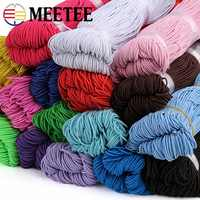 150M 1.2mm New Elastic Cord Sewing Elastic Bands Rope Stretch Rubber Ropes String For Hair Bow Garment Tag DIY Craft