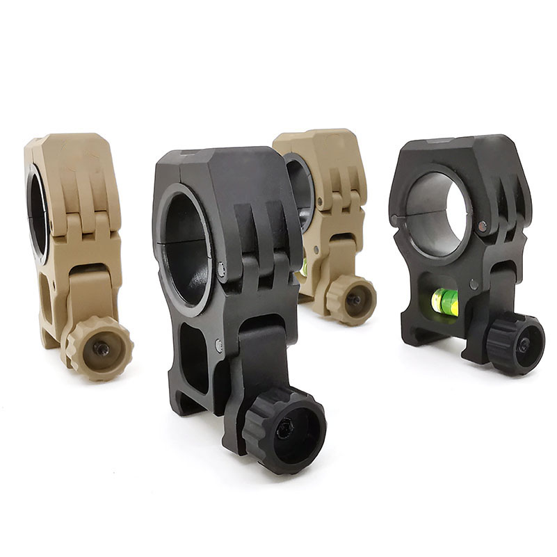 M10 Mount Scope Rings Separate Rifle Scope Mount QD 25mm/30mm Scope Mount With Bubble Level Riflescope Mount Hunting scope(China)