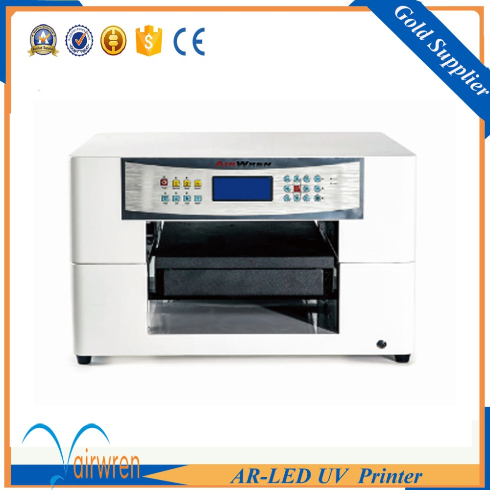 a3 size flatbed  printer uv print on acrylic plate with water cooling system  цены