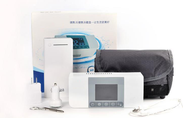 Mini Kühlschrank Für Medikamente : Wiederaufladbare tragbare outdoor reise mini kühlschrank tragbare