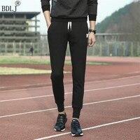 Darmowa wysyłka bdlj 2017 new fashion biegaczy męskie jesień zima odzież marki jakości dorywczo spodnie spodnie dresowe hip hop