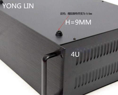 1 stücke HTPC CHASSIS 19 zoll chassis daten schalter box communication server chassis 4U chassis