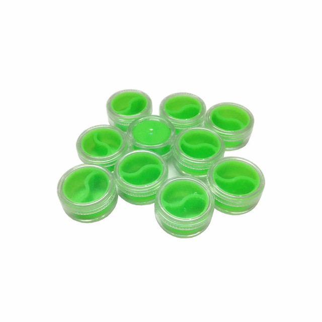 US $5 0 |3ml Silicone Storage Jar Seals For Wax Oil Silicone Jars Dab Wax  Container 1pcs/lot-in Storage Bottles & Jars from Home & Garden on
