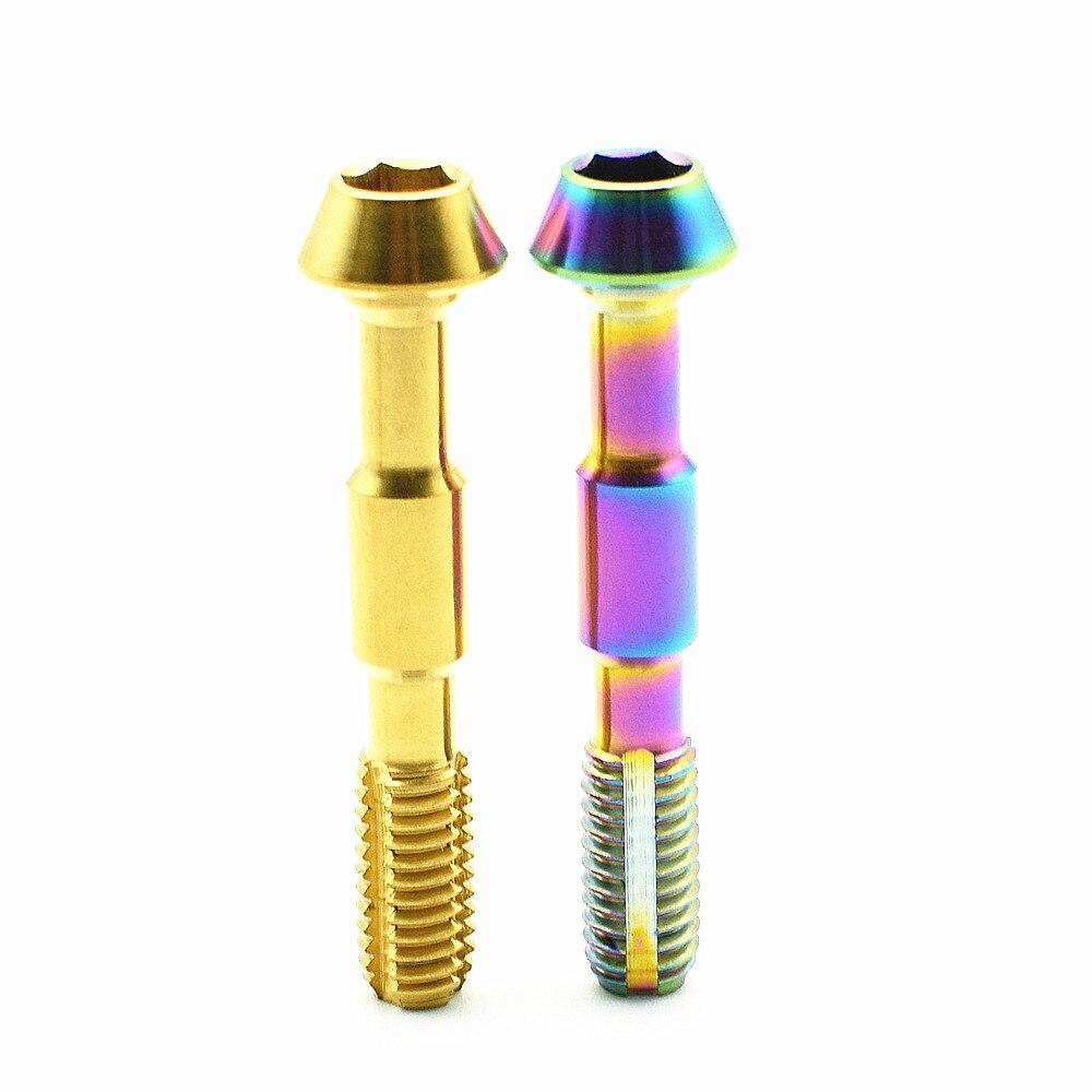 Титан болт для SHIMANO XTR M8000/9000/9020 масла тормозной FC крепления Ti болты золото Цвет Multi Цвет Титан винт Титан крепежа